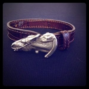 Brighton Horse Head Leather Bracelet